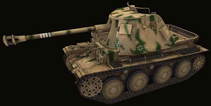 Шкурка для Marder III world of tanks