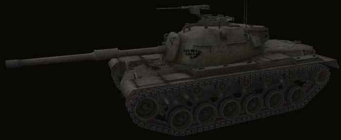 Ремоделинг танка M48A1 Patton World of Tanks