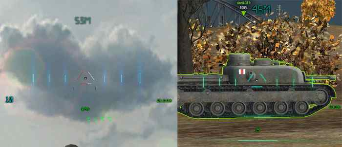 Прицелы World of Tanks Хищник world of tanks