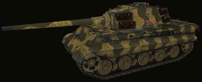 Шкурка для Pz VIB Tiger II world of tanks