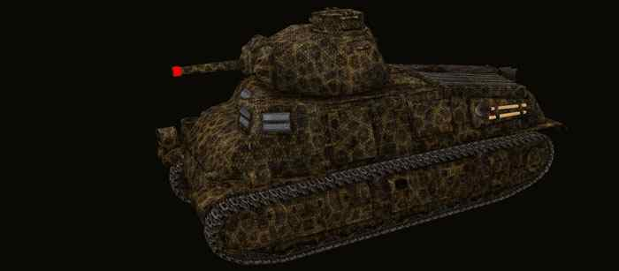 Шкурка для Pz S35 739(f) world of tanks