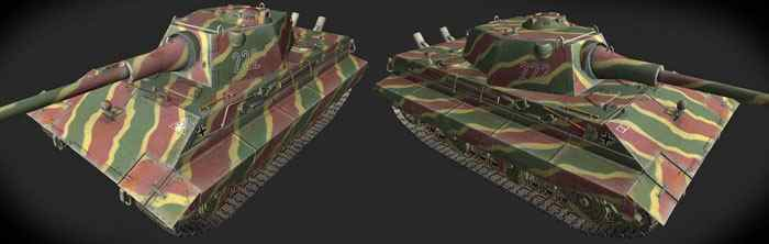 Шкурка для E-50 Ausf.M World of Tanks
