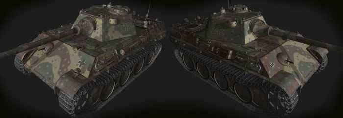 Шкурка Pz V Panther World of Tanks