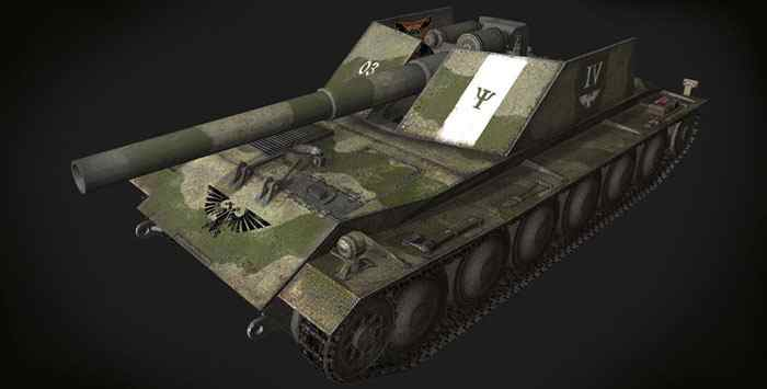 Шкурка для Rhm-Borsig Waffentrager World of Tanks