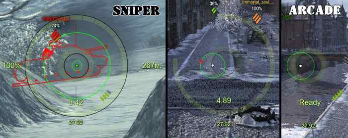 Прицелы OverCross для World of Tanks