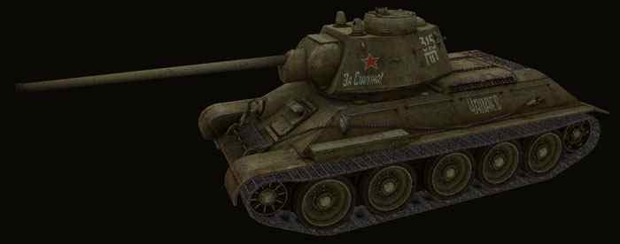 Шкурка для T-34  World of Tanks