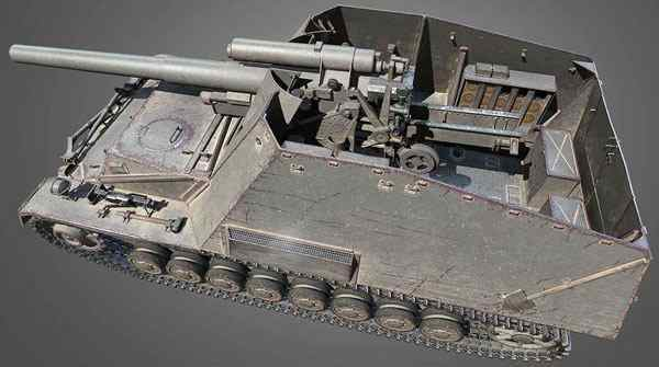 HD танк Hummel в World of Tanks