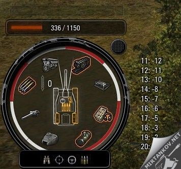 дамаг панель world of tanks